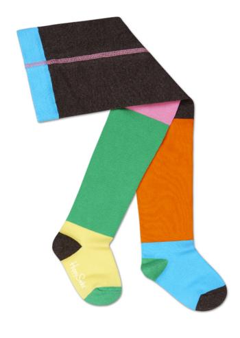 Kousenbroek verspringende kleuren  Kousen  Kousenbroeken - Panty's