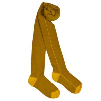 Kousenbroek Yellow stripe  Kousen  Kousenbroeken - Panty's