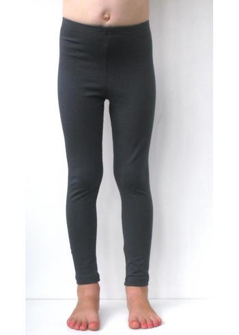 lange legging Antraciet  Kousen  Leggings