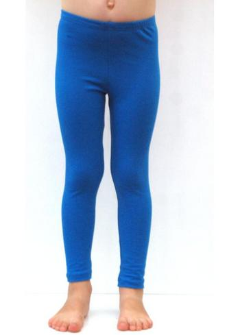 lange legging blauw  Kousen  Leggings