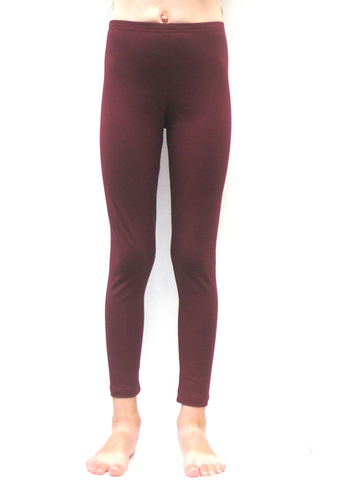 Lange legging Bordeaux  Kousen  Leggings