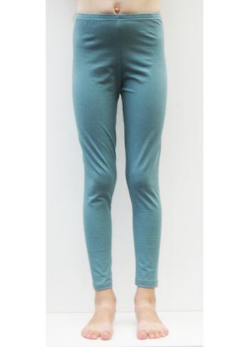 Lange legging Donker blauwgrijs  Kousen  Leggings
