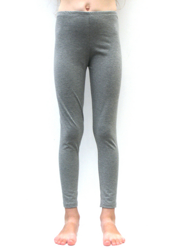 Lange legging gemêleerd grijs  Kousen  Leggings