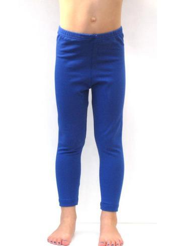 lange legging Kobaltblauw  Kousen  Leggings