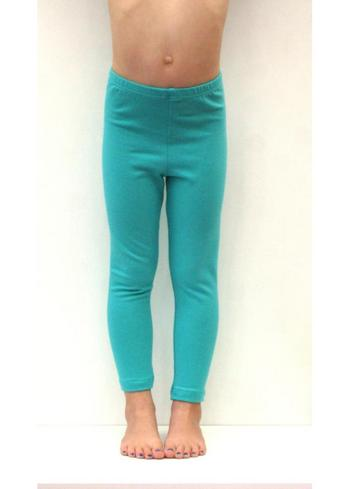 lange legging licht appelblauwzeegroen/mint  Kousen  Leggings