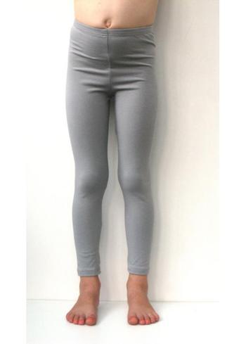 lange legging licht grijs  Kousen  Leggings