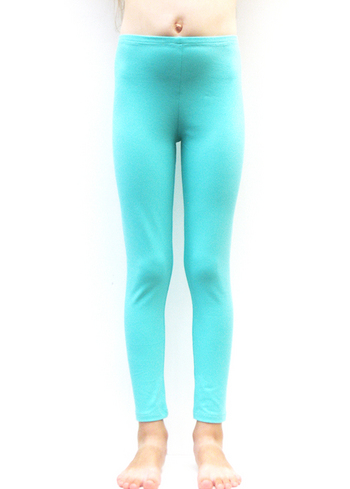 Lange legging licht mint  Kousen  Leggings