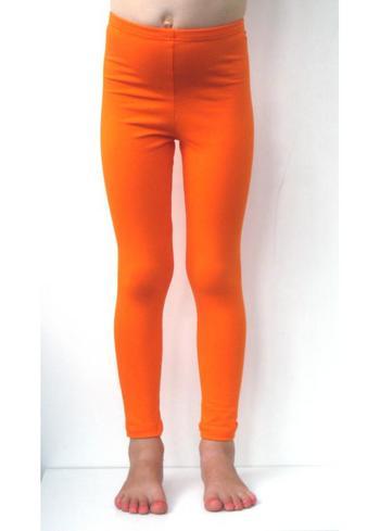 Lange legging oranje  Kousen  Leggings