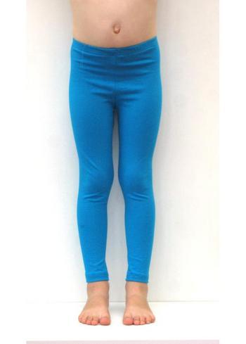 lange legging Turquoise  Kousen  Leggings