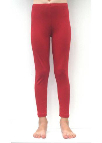 Lange legging warm rood  Kousen  Leggings