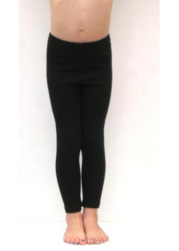 lange legging zwart  Kousen  Leggings