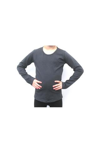 Longsleeve antraciet  Kousen  Shirts