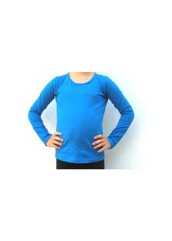 Longsleeve blauw  Kousen  Shirts