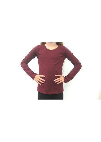 Longsleeve Bordeaux  Kousen  Shirts