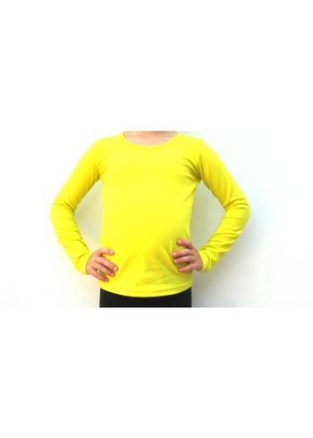 longsleeve geel  Kousen  Shirts