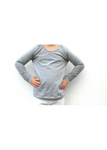 Longsleeve licht grijs  Kousen  Shirts
