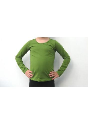 Longsleeve olijfgroen  Kousen  Shirts