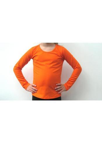 Longsleeve oranje  Kousen  Shirts