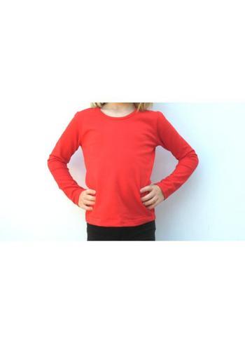 Longsleeve rood  Kousen  Shirts