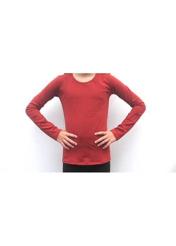 Longsleeve Steenrood  Kousen  Shirts