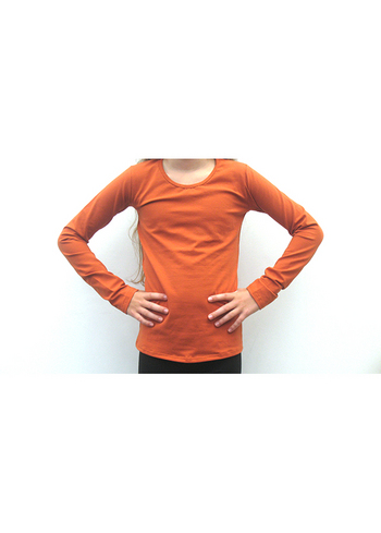 Longsleeve Terracotta/roest  Kousen  Shirts