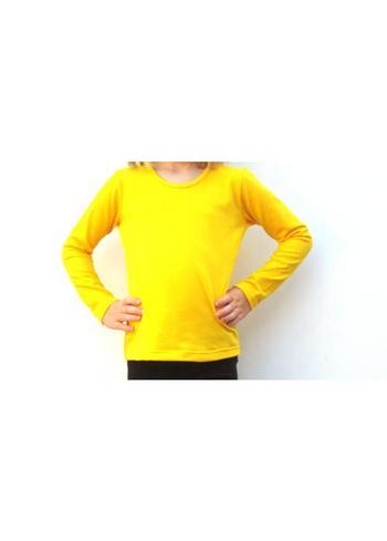 Longsleeve warm geel  Kousen  Shirts