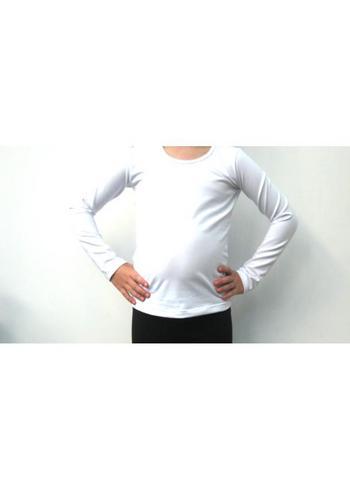 Longsleeve wit  Kousen  Shirts