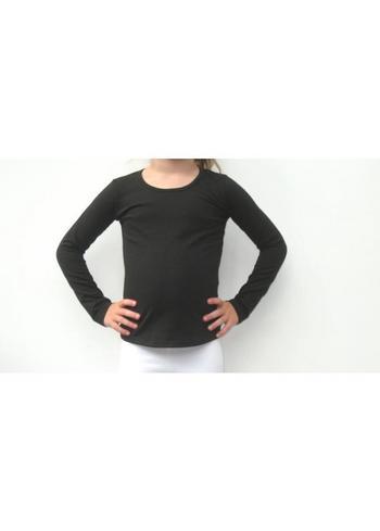 longsleeve zwart  Kousen  Shirts