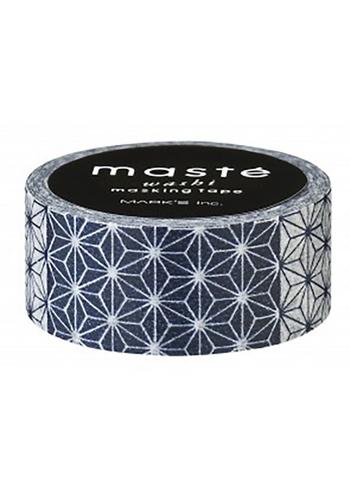 Masking tape - Asanoha  Karton  Masking tape/Washi tape