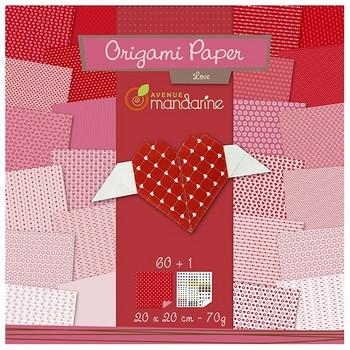 Origami Hart  Karton  Speelgoed / creatief