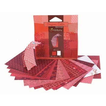 Origami rood  Karton  Speelgoed / creatief