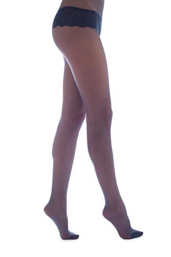 Panty Glamour Blue  Kousen  Kousenbroeken - Panty's