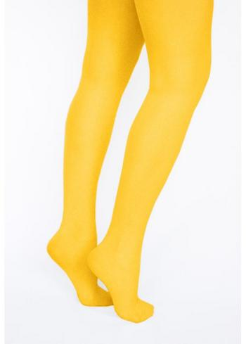 Panty/kousenbroek zonnegeel  Kousen  Kousenbroeken - Panty's