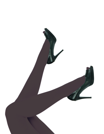 Panty Top Model plus size Bruin Oscurita  Kousen  Kousenbroeken - Panty's