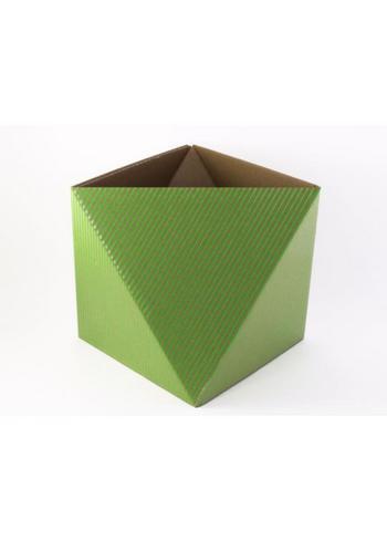 Papiermand OCTA fluo groen  Karton  Interieurdecoratie