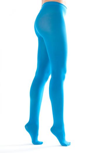 Shiny Happy Panty Petrol Blauw  Kousen  Kousenbroeken - Panty's