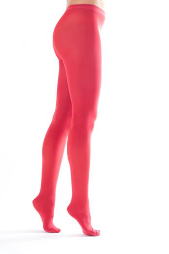 Shiny Happy Panty Rood  Kousen  Kousenbroeken - Panty's
