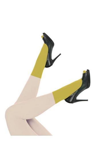 Simple Kind Nylon Ochre  Kousen  Kousen/sokken