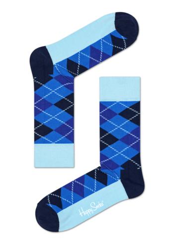 Sokken Argyle blauw marine  Kousen  Kousen/sokken