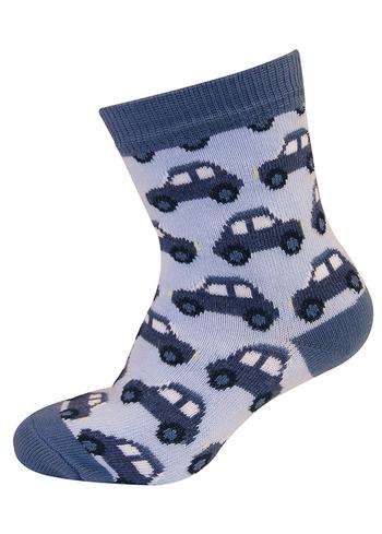 sokken auto blauw/ gemêleerd blauw  Kousen  Kousen/sokken