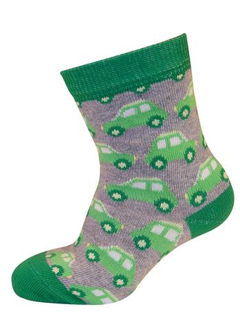 sokken auto gris groen/grijs  Kousen  Kousen/sokken