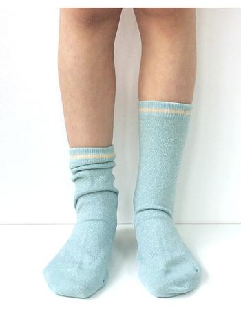 Sokken Cloud Blue glitter Gerda  Kousen  Kousen/sokken