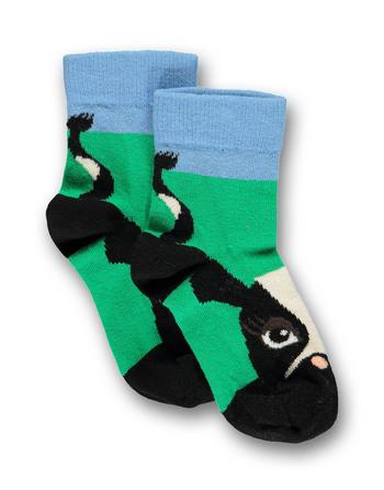 Sokken Cow green  Kousen  Kousen/sokken