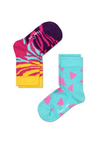 Sokken duo pack zebra/triangle girl  Kousen  Kousen/sokken