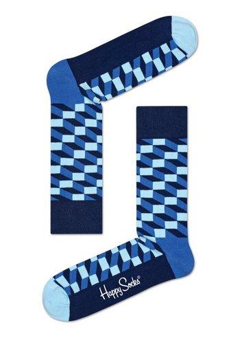 Sokken Filled Optic Blue  Kousen  Kousen/sokken