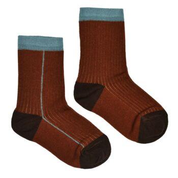 Socks chocolate  Kousen  Kousen/sokken