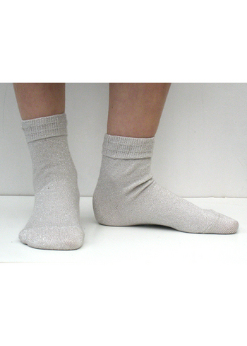 Sokken glitter Drop Silver  Kousen  Kousen/sokken