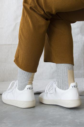 Sokken Glitter light grey  Kousen  Kousen/sokken