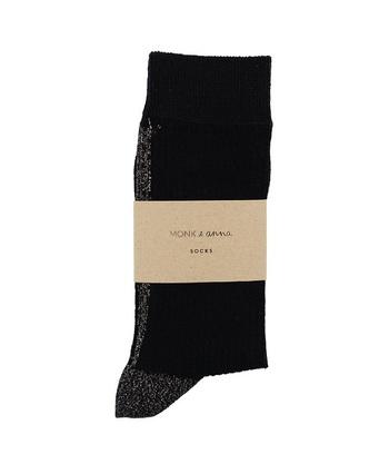 Sokken Glitter Line Black  Kousen  Kousen/sokken