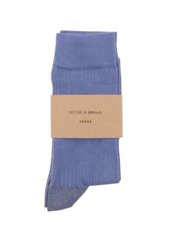 Sokken Glitter Line Faded Blue  Kousen  Kousen/sokken